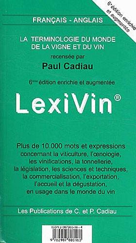 9782907080163: LexiVin/LexiWine 2012