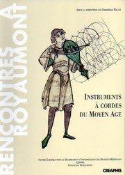 9782907150897: Instruments a cordes du Moyen-Age (Rencontres à Royaumont)