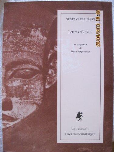 9782907202237: Lettres d'orient