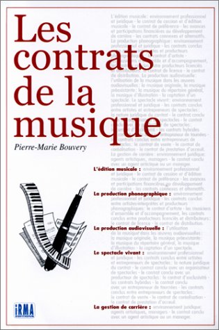 9782907366502: Les contrats de la musique