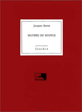 Matiere du souffle: (Antoni Tapies) (French Edition) (2907374702) by Dupin, Jacques