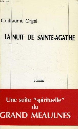 9782907622004: La nuit de Sainte-Agathe