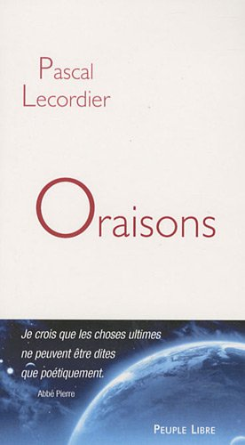9782907655552: Oraisons (French Edition)