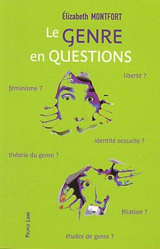 9782907655859: Le genre en questions