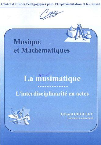 9782907756020: Musique et Mathématiques : La musimatique,