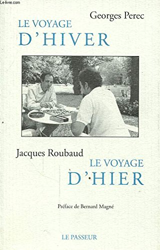 9782907913539: Le voyage d'hiver (French Edition)