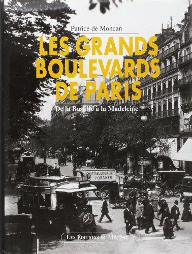 9782907970341: Les grands boulevards de Paris : de la Bastille à la Madeleine