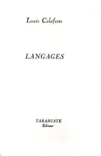 9782908138658: Langages (1972)