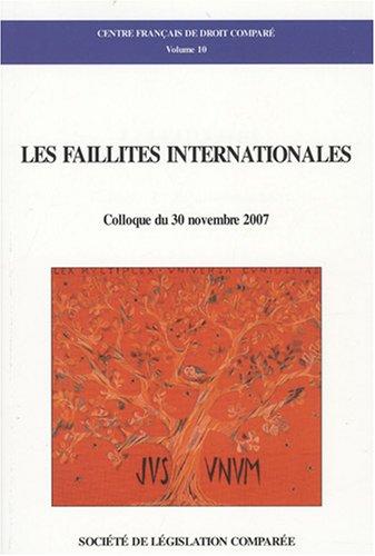 Les faillites internationales: Boureghda Maya