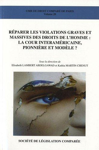 9782908199833: Reparer les violations graves et massives des droits de l'homme : la cour interamericaine, pionniere