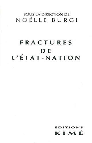 9782908212839: Fractures de l'Etat-nation