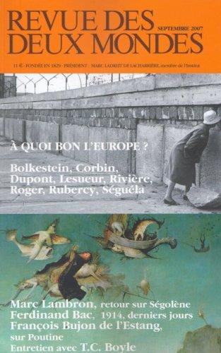 9782908312492: Revue des deux Mondes : Europe, guerre et paix