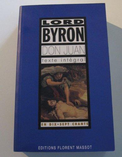 Don juan de lord byron (Editions Floren): Byron (Lord)