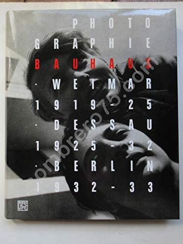 9782908393408: Photographie Bauhaus, 1919-1933