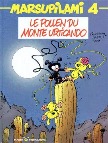 9782908462128: Le Marsupilami, tome 4 : Le Pollen du Monte Urticando