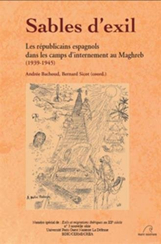 9782908476729: Sables d'exil (French Edition)