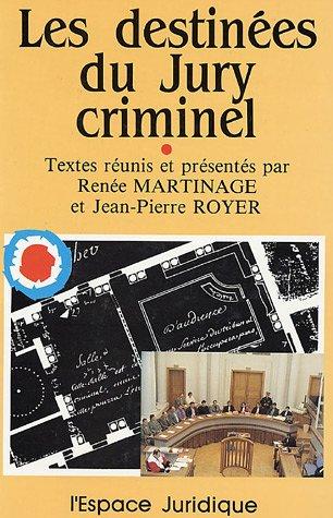 9782908510010: Les destin�es du Jury criminel