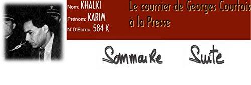 9782908744491: Karim Khalki n° d'écrou 584 K