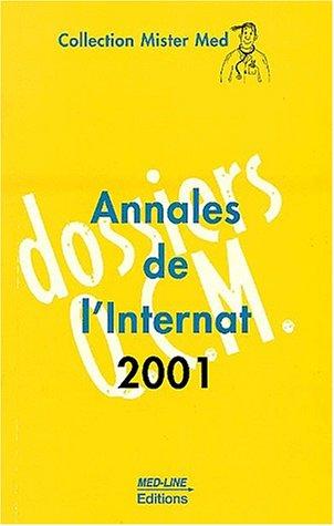 9782908763959: Annales de l'internat 2001