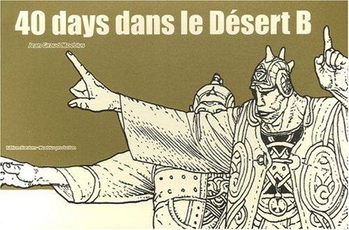 9782908766400: 40 days dans le desert/ 40 Days in the Desert (French Edition)