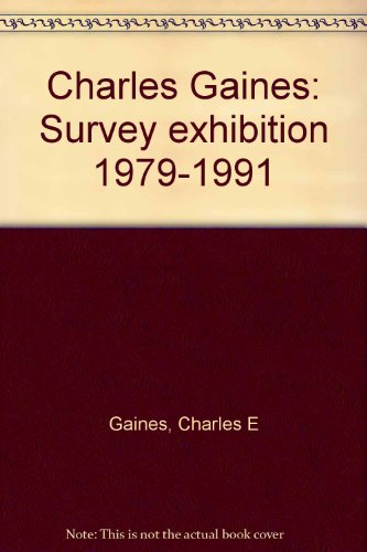 Charles Gaines, Survey Exhibition 1979-1991: Lavignes Bastille, Paris; Leo Castelli, New York; John...