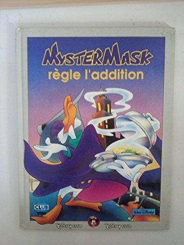 9782908803211: Mystermask : Myster Mask règle l'addition