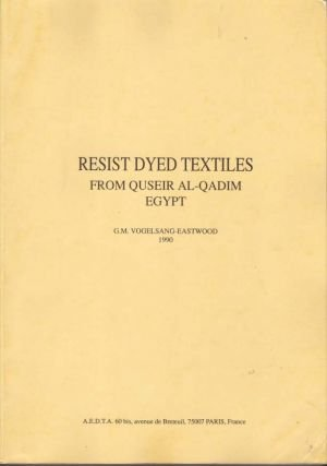 Resist dyed textiles from Quseir al-Qadim, Egypt (2908864029) by Gillian Vogelsang-Eastwood