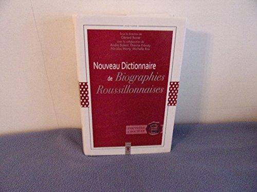 Nouveau Dictionnaire De Biographies