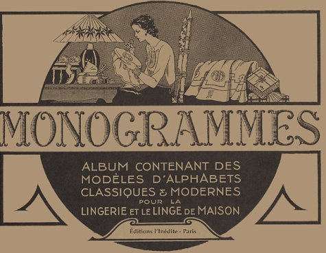 9782908894721: Monogrammes (French Edition)