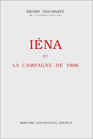 9782909034140: IENA ET LA CAMPAGNE DE 1806