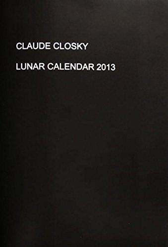 9782909043333: Lunar Calendar 2013
