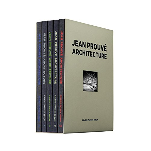 9782909187198: Jean Prouv Architecture: 5 Volume Box Set No. 2 (Jean Prouvé Architecture)