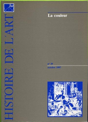 9782909196183: Revue histoire de l art no 39