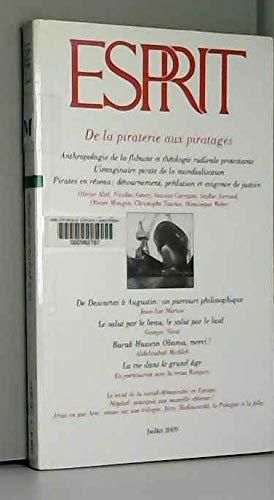 9782909210780: De la piraterie aux piratages (Revue Esprit n° 356 Juillet 2009)