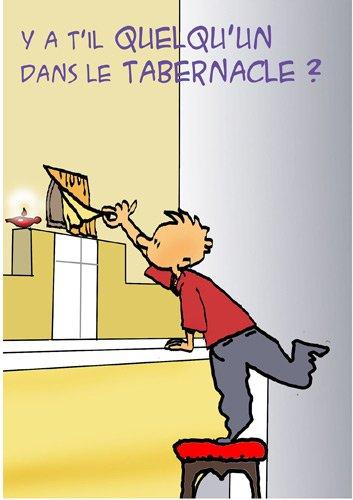 Y a-t-il quelqu un au tabernacle ?: Centre saint Jean