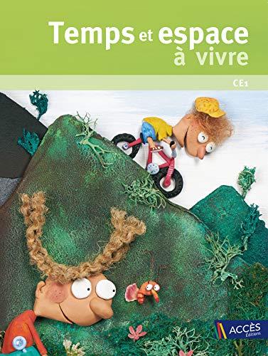 9782909295022: Temps et Espace � Vivre CE1 (+ 1 DVD-Rom)