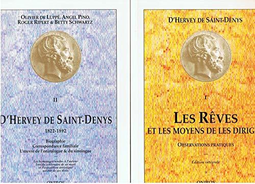9782909318035: Coffret 2 volumes : D'Hervey de Saint-Denys, 1822-1892
