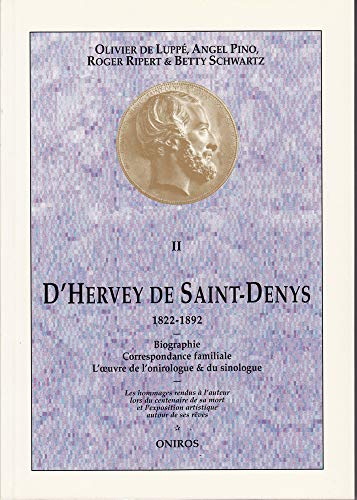 9782909318059: D'Hervey de Saint-Denys (1822-1892)