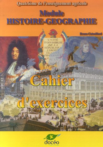 9782909662756: 4eme histoire geo - m3 - cahier d'exercices