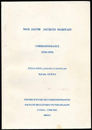 9782909673158: Correspondance : 1924-1935