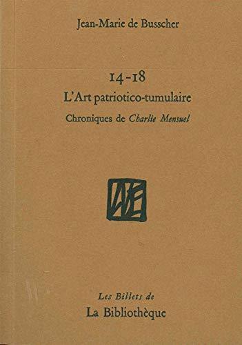 9782909688664: L'art patriotico-tumulaire