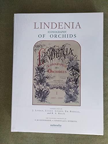 Lindenia Iconography of Orchids (Five volumes): Linden, J., Linden, Lucien, Rodigas, Em., and Rolfe...
