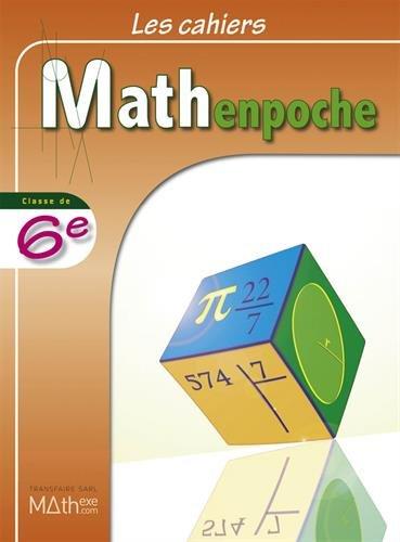 9782909717647: Les cahiers Mathenpoche 6e