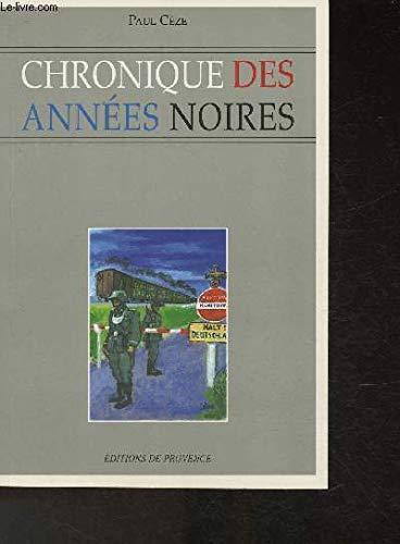 9782909800677: Chroniques des Annees Noires