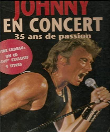 9782909828213: Johnny en concert : 35 Ans de passion
