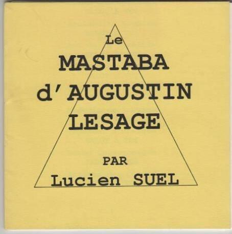 9782909834252: Le mastaba d'Augustin Lesage