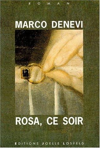 Rosa, ce soir Denevi,Marco and Saint-Lu,Jean-Marie