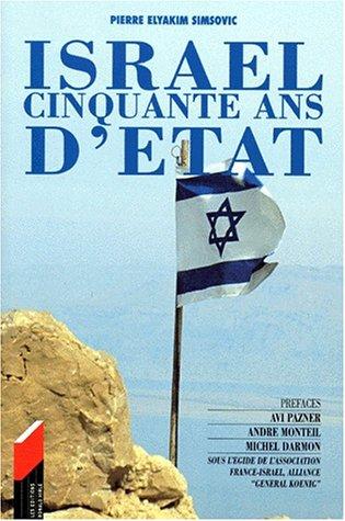 9782910048594: Israël, cinquante ans d'État