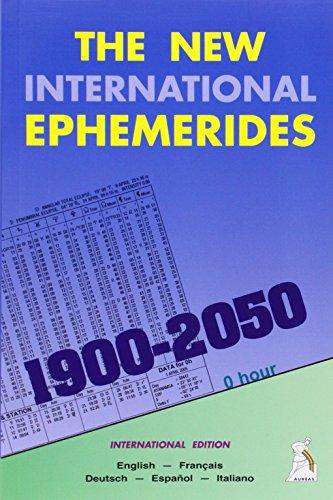New International Ephemerides 1900-2050: Midnight: Collectif