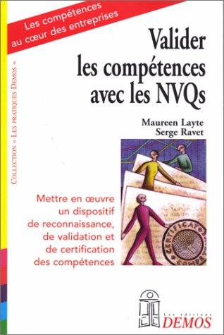 9782910157265: Valider les compétences avec les NVQS